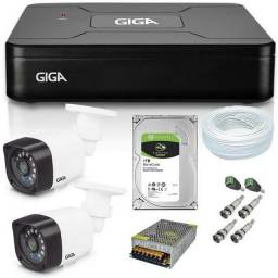 Cameras de Segurança kit instalado