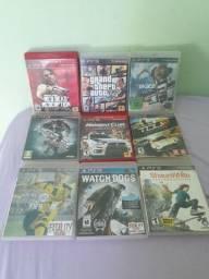9 Jogos PlayStation 3 por R$300