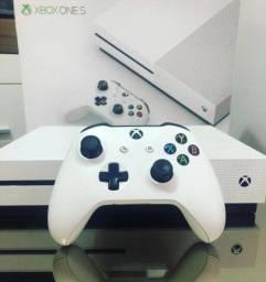 Xbox One s 1tb completo (vários jogos + garantia )