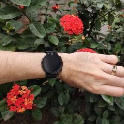 Smartwatch Colmi V23 (Preto e Dourado)