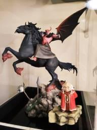 Vingador Deluxe + Mestre dos magos - Caverna Do Dragão Iron Studios