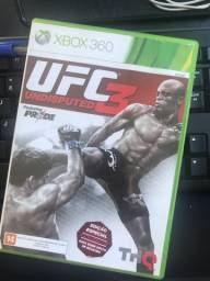 Jogo UFC3 XBOX 360