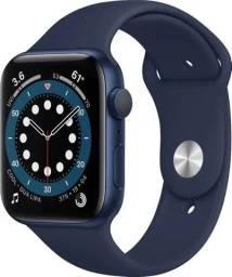 Smartwatch Vband Iwo 13 acompanha pulseira extra nylon