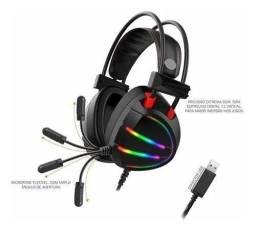 Headset Gamer 7.1 Kmex AR70 RGB