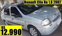 Título do anúncio: Renault Clio Rn 1.0 2002