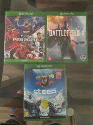 Jogos de Xbox one por 35,00 cada