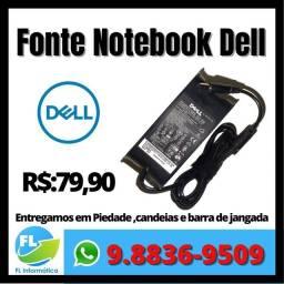 Fonte notebook Dell ( Bico Grosso )