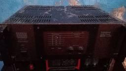 Amplificador vintage voxman defeito desmontado