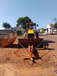 Retro escavadeira JCB 4×2