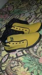 Sapato sem original caterpillar
