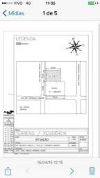 Terreno med. 1.484m², Rua na 3º quadra atrás do Hotel Celi e Ibis Hotel