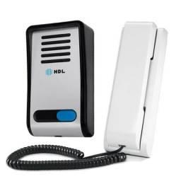 Interfone Porteiro Hdl Eletronico Residencial F8-sn Monofone