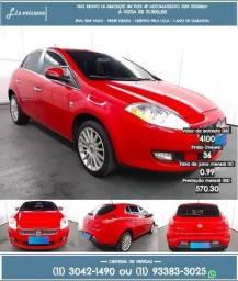 Fiat bravo 1.8 absolute 2012 vermelho R$21.399 57.099km - 2012