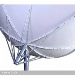 Antena Fibra de Vidro 2,60 cm Bakofsat