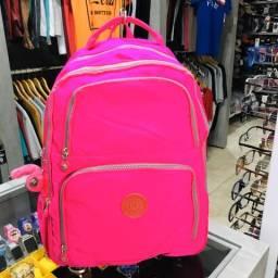 Mochila Kipling Rosa Pink Fluorescente