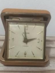 Relógio antigo de mesa despertador antigo alemão Europa