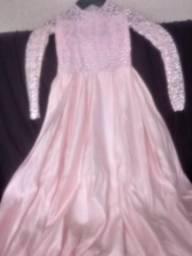 Vestido de festa (rose gold)