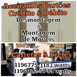 """CARRETOS e FRETES """"ACEITO CARTÃO """""""