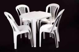 10 conjunto de mesa com cadeiras