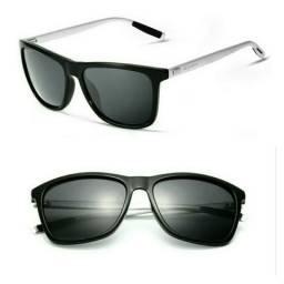 732c868be Óculos de Sol Polarizado Masculino Feminino Unisex Quadrado Veithdia