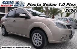 Fiesta Sedan 1.0 Flex - 2008 - Prata - 2008