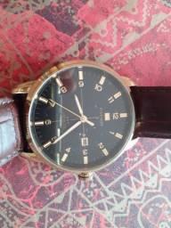 Relógios originais Tommy ou MK, caneta de ouro