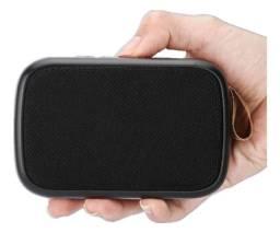 Caixa de Som Bluetooth com Rádio FM