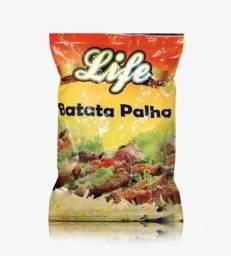 Batata palha life fardo com 20 unidades de 500 gramas