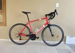 Bicicleta Speed Btwin Triban 500 bike Garfo Carbono