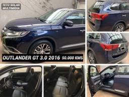 Mitsubishi Outlander 2016 Gt 3.0 V6 Autom. Teto Couro Multimídia 48 Mil Kms