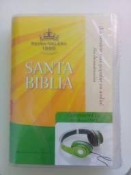 Bíblia em áudio em espanhol - Reina Valera - Produto novo lacrado