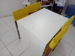 Cadeiras recicladas de madeira maciça. - valor por unidade