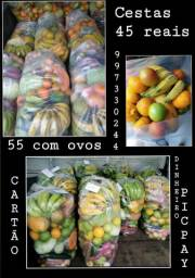 Sacolão de FRUTAS E VERDURAS ENTREGA grátis para VITORIA ,VILA VELHA E CARIACICA