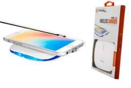 Carregador Por Indução Portátil Sem Fio Pmcell Celulares Smartphones