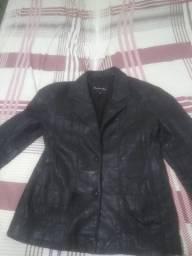 Jaqueta couro legítimo tamanho M
