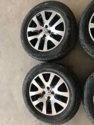 Rodas e pneus aro 16?? serve VW e Chevrolet