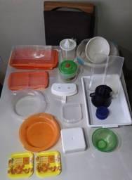 Kit Itens plásticos diversos