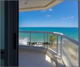 Magistrale, apartamento com 4 suítes em 288m², vista mar, nascente no Rio Vermelho