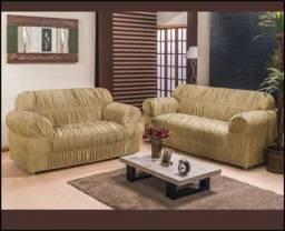 Jogo de capas para sofá  2 e 3  lugares.