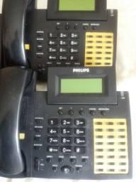 Telefone digital Sopho Set 150 Philips para central telefonica Sopho Es150