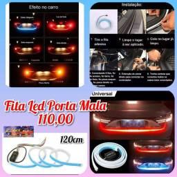 Kit fita led para porta malas 4 funções R$ 110,00