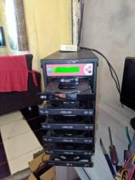 Gravadora ou Copiadora de DVD marca LSK