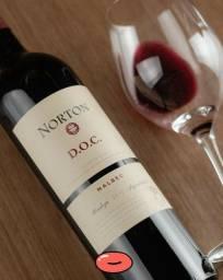 Vinho Argentino Norton DOC Malbec 40 reais