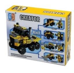 Lego infantil Creator Bulldozer 48 peças - Loja Minichina
