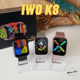 Smartwatch IWO 12 Ultra + Pulseira Milanese