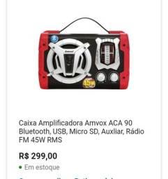 Caixa amplificadora Amvox ACA90