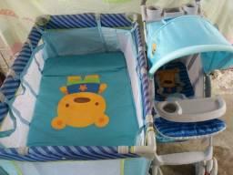 Carrinhode bebê e Berço