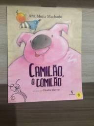Livro Camilão, o Comilão