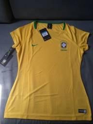 Camisa Nike CBF  feminina
