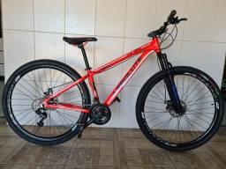 Bicicleta aro 29 freio a disco nova alumínio absolute